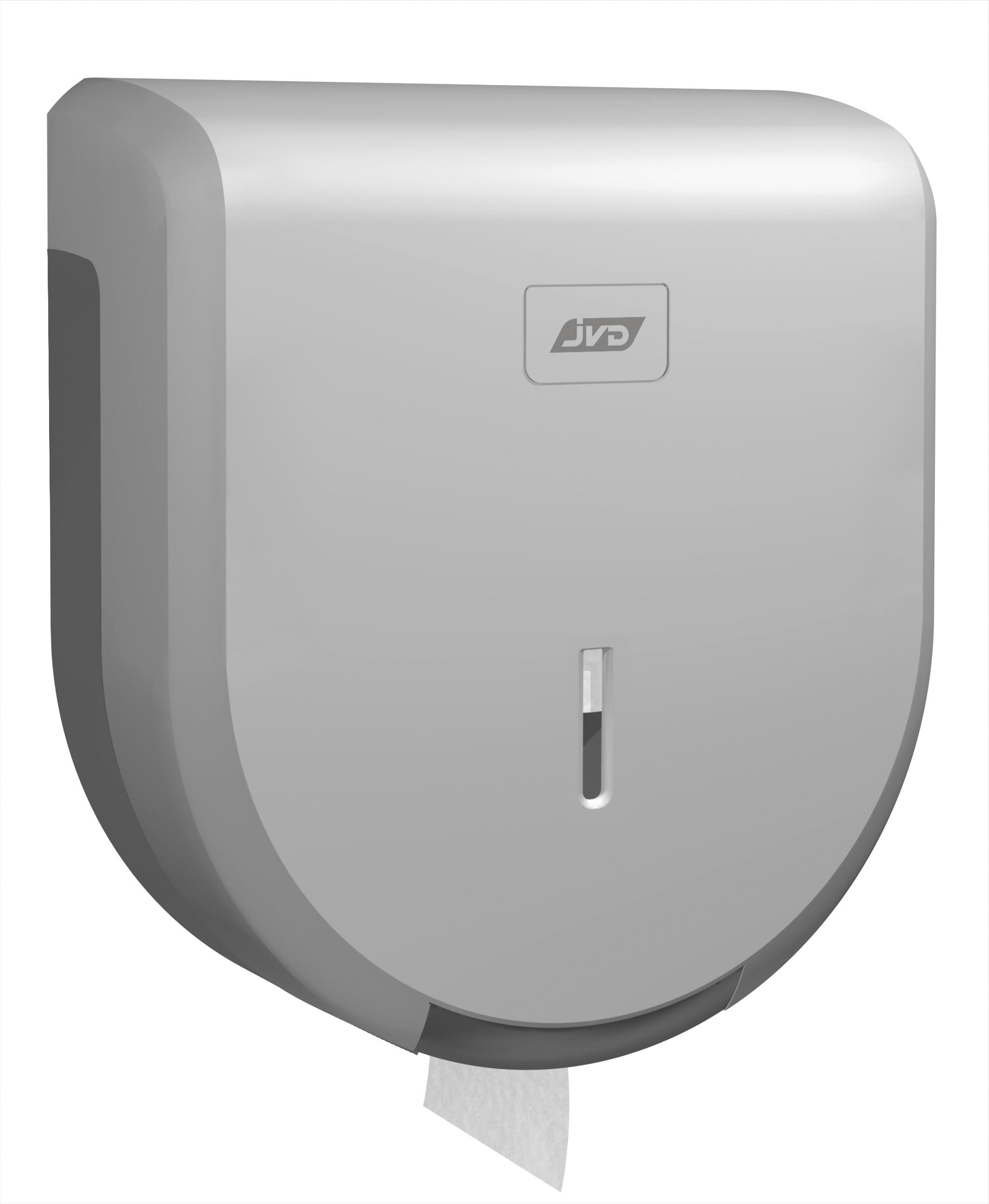 af6910b15 Dispensador de Papel Higiénico Jumbo Plástico Prata na Loja Ricardo e Vaz,  Papelaria, Higiene e Limpeza | Ricardo & Vaz