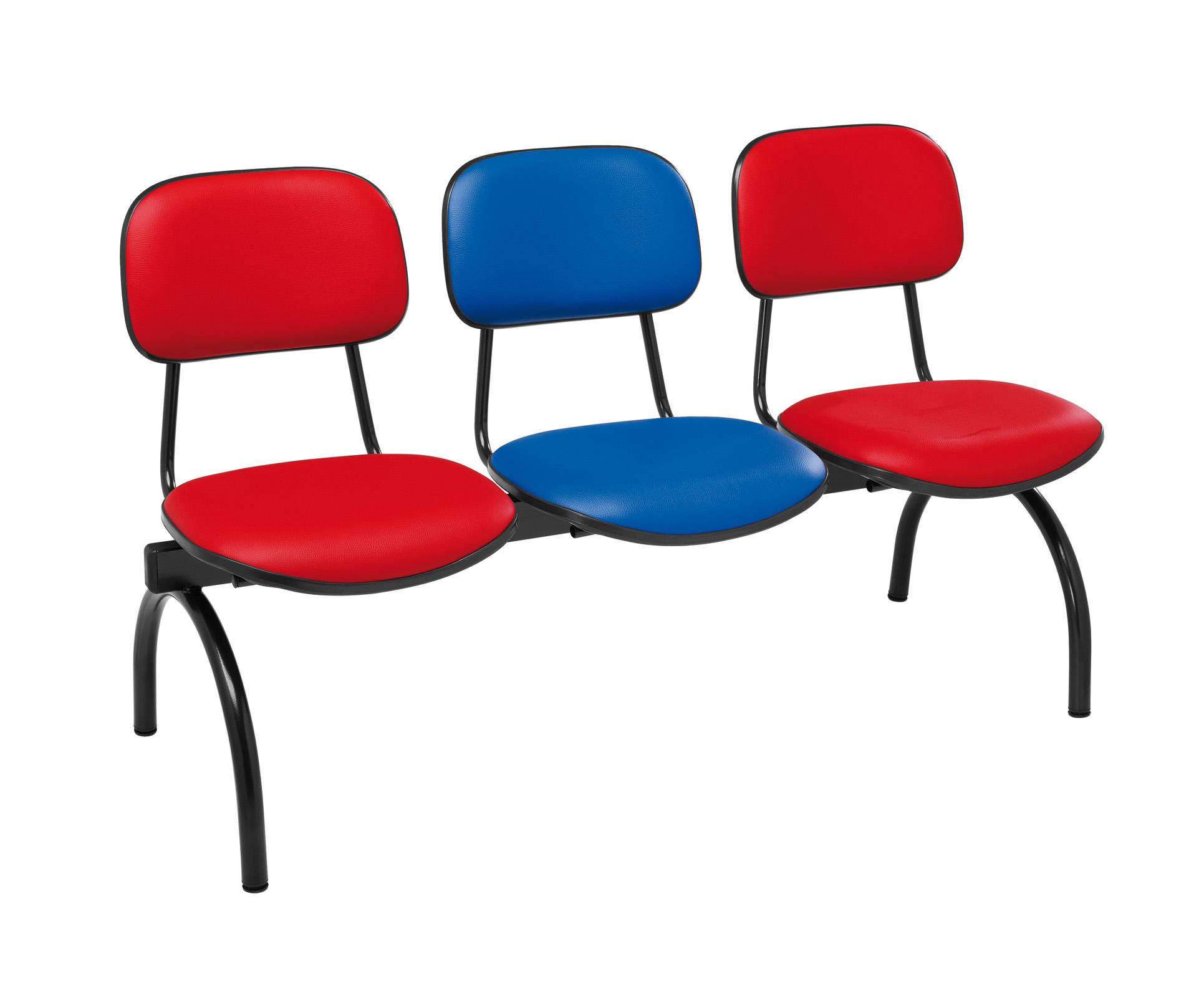 Cadeiras Recepção 3 Lugares e Mesa 635 (Cadeiras de Escritório  #014992 1931x1583