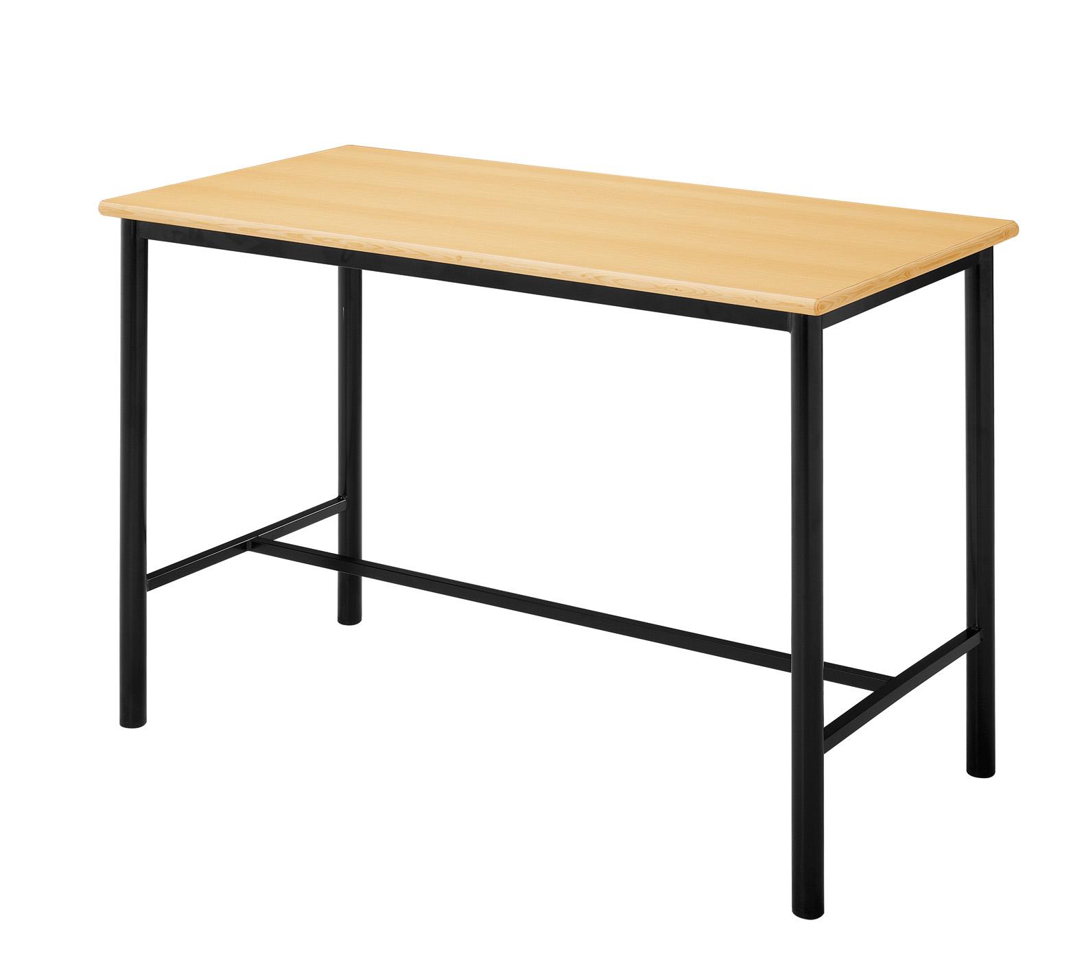 bancada escolar de trabalho 1500x600x850mm 795 mobiliário de  #AC751F 1580x1418
