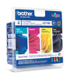 Tinteiro Brother Pack 4 Cores LC1100VALBP