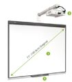 Quadro Interactivo Smart Board com projector V30