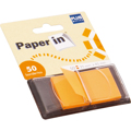 Notas Aderentes Index  PAPER-IN 25X45 Laranja 50U