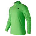 Camisola de Manga Comprida Homem New Balance TOP SPACE Verde S