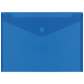 Envelopes PP PLUS A4 Velcro  Azul