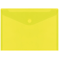 Envelopes PP PLUS A4 Velcro Amarelo
