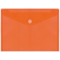 Envelopes PP PLUS A4 Velcro Laranja