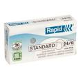 Agrafes para grapadora Rapid 20EX Super Strong 24/6
