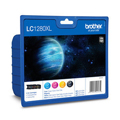 Tinteiro Brother Alta Capacidade Pack 4 Cores LC1280HYVALBP