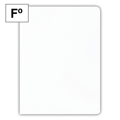Dossier Cartolina PLUS Folio 200G Branco 25 Un.