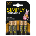 Pilhas Duracell Simply AA