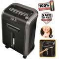 Destruidora de Papel Fellowes 79Ci, 14 Fls, 23L, CD/DVDs com Rodas