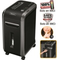 Destruidora de Papel Fellowes 99Ci, 18 Fls, 34L, CD/DVDs com Rodas