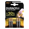 Pilhas Plus Power Lr03 DURACELL (4 uds)