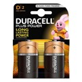 Pilhas Alcalinas Plus Power DURACELL LR20/MN1300 (2 pcs)