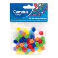 Kit Manualidades CAMPUS Pompons 60 Un.