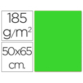 Cartolina GUARRO 50X65 Verde Fluorescente 25 Un.