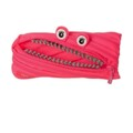 Bolsa Escolar Nikidom Grillz Monster Puch Clip Strip Preto