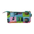 Bolsa Escolar Animals Totto Tablero Verde (22 Cm)