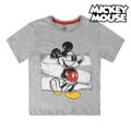 Camisola de Manga Curta Infantil Mickey Mouse 4 anos