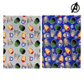 Manta Polar The Avengers 73362 (120 x 160 cm) Cinzento