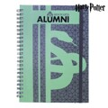 Caderno de Argolas Slytherin Harry Potter