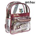 Mochila Escolar Harry Potter 72902 Transparente Grená