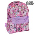 Mochila Escolar LOL Surprise! Cor de rosa