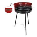 Barbecue Redonda Vermelho