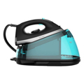 Centro de Engomar Cecotec Total Iron 7500 Turbo Slim 7 bar 150 g/min 2700W Preto