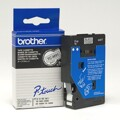 Fitas Brother Laminadas Matte/Preto 9 mm x 7.7 m