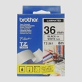 Fita Brother P-Touch Branco/Preto 36 mm x 8 m