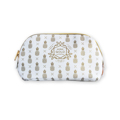 Bolsa Estojo Oval Gold White