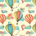 Papel Vintage Clouds C80/015