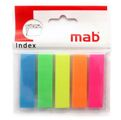 Bloco de Notas Aderentes Index Pack 5 12x50mm Mab