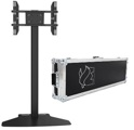 "Suportes TV / Televisão 32 - 55"" M PUBLIC DISPLAY BASE 180 FLIGHTCASE c/ Mala de Transporte Preto Multibrackets"
