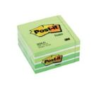 Bloco de Notas Aderentes Cubo 450 Folhas Verde Pastel 76x76mm Post-It