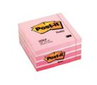 Bloco de Notas Aderentes Cubo 450 Folhas Rosa Pastel 76x76mm Post-It