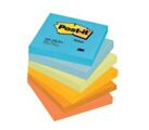 Bloco de Notas Aderentes 76x76mm Post-It Harmonia 6 Blocos