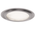 Paineis Projectores de Tecto Falso LED IP44 Aço 160mm 12W Neutro Regulável
