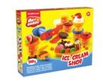Kit de massa de modelar Ice Cream Shop  6 Cores x 35 g
