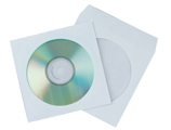 Envelope de Papel Q-connect para Cd's/dvd's Pack de 50 Unidades
