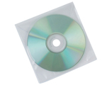 Envelope de Polipropileno Q-connect para Cd's/dvd's Pack de 50 Unidades