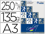 Papel Color Copy Glossy Pack 250 Folhas 135 gr Din A3