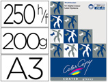 Papel Color Copy Glossy Pack 250 Folhas 200 gr Din A3