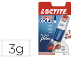 Cola Loctite 3 gr Super Cola 3 Perfect Pen
