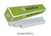 Papel Plotter Evolution 100gr A1 610mmx45.7m Matte (rolos ploter)