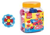 Kit de massa de modelar Press Playset 4 Cores x 35 g