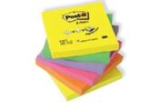 Bloco de Notas Aderentes 76x76mm Post-It Z Note Néon Zig-Zag 6 Blocos