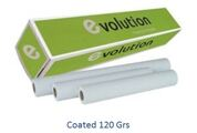 Papel Plotter Evolution 120Gr A1 610mmx30m (rolos ploter)