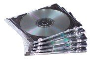 Caixa CD / DVD Fina Fellowes 25un.